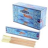 ABN Fashion Satya Aashtha - Varillas de incienso (aroma natural, enrolladas a mano, 12 unidades)
