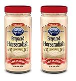 Silver Springs, Prepared Horseradish 8 oz (2 Pack)