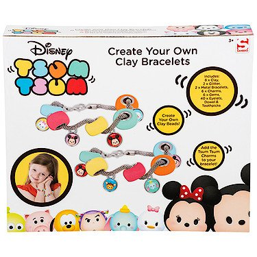 Disney – Tsum Tsum – Crée tes Propres Bracelets avec Perles en Argile