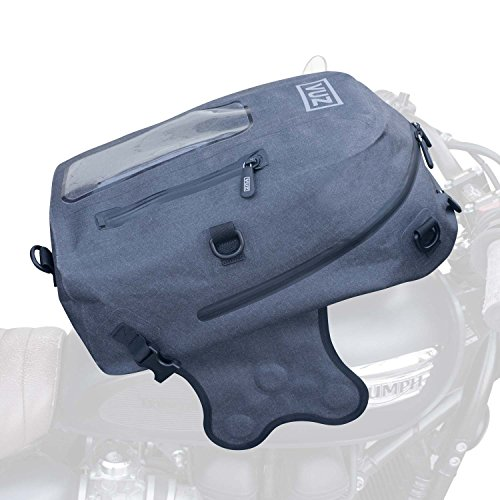 Vuz Moto Dry Motorcylce Tank Bag Backpack, Premium Waterproof Backpack and Magnetic Motor-Bike Tank...