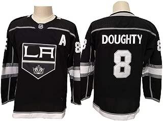 Eltawak Women's #8 Doughty Jersey Kings Drew Black Breakaway Player Jersey Ice Hockey Sportswear Jersey