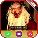 Incoming Video Live Voice Call From Scary Santa Claus Tracker - Free Fake Phone Game Caller ID PRO 2021- PRANK