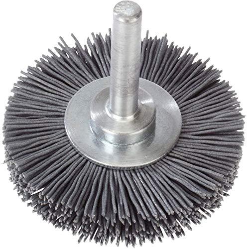 10x LUKAS staalborstel BSNF universeel 70x12 mm voor boormachines van nylon | fijn