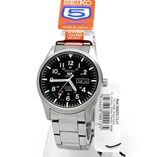 Seiko 5Sport Militare Automatico Uomo snzg13j1by Seiko Watches