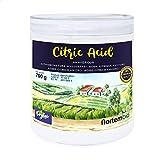 Nortembio ácido cítrico 700g. Polvo anhidro, 100% puro. Para producción ecológica. E-book incluido.