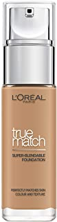 L'Oréal Paris Make-up designer True Match Base de maquillaje, Tono 7W Golden Amber