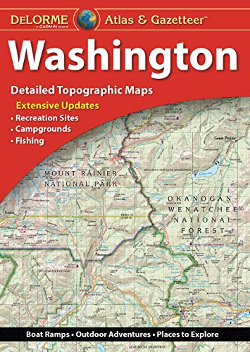 Compare Textbook Prices for Delorme Atlas & Gazetteer: Washington 12 Edition ISBN 9781946494368 by Delorme