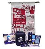 Saugat Traders Best Teacher Greeting Card, Park Avenue Grooming Kit for Teachers