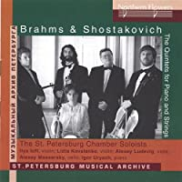Brahms & Shostakovich Piano Quintets