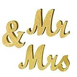 Vintage Mr & Mrs Letras de madera blancas para boda soporte de cartel figuras decoración de boda regalo hogar decoración