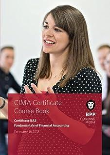 CIMA BA3 Fundamentals of Financial Accounting: Coursebook