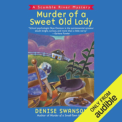 Murder of a Sweet Old Lady audiobook cover art