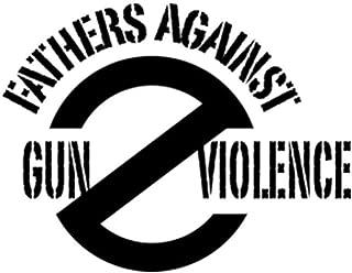 PressFans - Fathers Against Gun Violence Car Laptop Sticker Decal