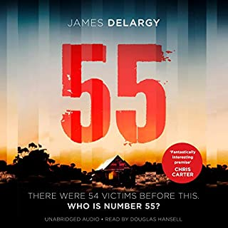 55                   By:                                                                                                                                 James Delargy                               Narrated by:                                                                                                                                 Douglas Hansell                      Length: 10 hrs and 28 mins     8 ratings     Overall 4.3