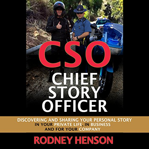 CSO Chief Story Officer audiobook cover art