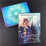 LHJY The Quantum Oracle Tarot Cards, 53PCS / Set Creative Fate Adivination Tarjeta De Juego De Mesa para Entretenimiento De Fiesta De Amigos (2 Cajas)