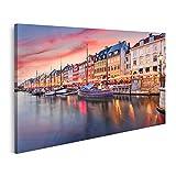 islandburner Bild Bilder auf Leinwand Kopenhagen Dänemark