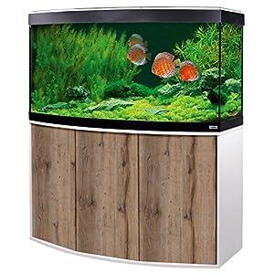 Aquariumkombination-Fluval-Vicenza-260-mit-LED-Beleuchtung-Heizer-Filter-und-Unterschrank-wei-Eiche
