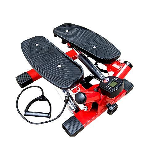 DODOBD Stepper up-Down con Resistencia Ajustable y computadora de Entrenamiento, Inalámbrica Máquina de Step Mini Stepper con Pantalla Multifuncional