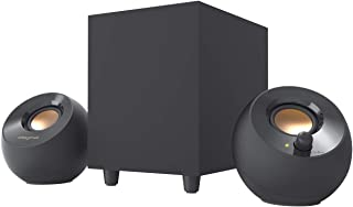 Creative Pebble Plus 2.1 USB-Powered Desktop Speakers with Powerful Down-Firing Subwoofer and Far-Field Drivers, Up to 8W ...