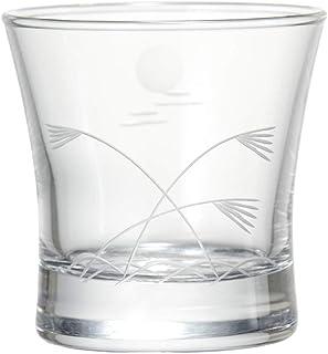 東洋佐々木ガラス 冷酒グラス 110ml 切子杯 ススキと月切子 日本製 09126-78