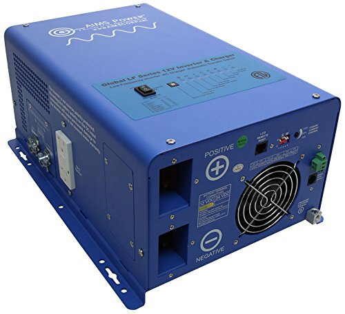 AIMS Power 1000 Watt 12 VDC Pure Sine Inverter Charg ETL Certified to UL 458