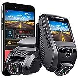 VIZOMAOI F7 Dash Cam 4K 2160P Built-in GPS WiFi Dash Camera for Cars, Novatek NT96670 3840x2160, 8MP Sony IMX415 Sensor, 150-degree View Angle