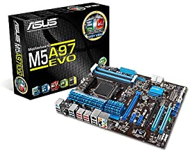 ASUS M5A97 Evo - AM3+ - 970 - SATA 6Gbps and USB 3.0 - ATX AMD ATX DDR3 2133 Motherboards
