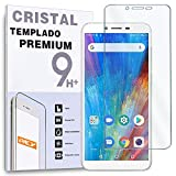 REY Protector de Pantalla para COOLPAD Mega, Cristal Vidrio Templado Premium