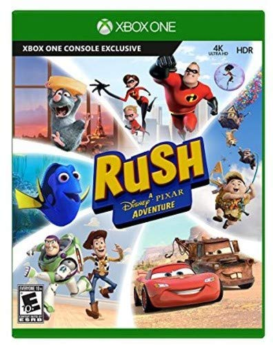 Microsoft Rush: A Disney Pixar Adventure Básico Xbox One vídeo - Juego (Xbox One, Familia, E10 + (Everyone 10 +))