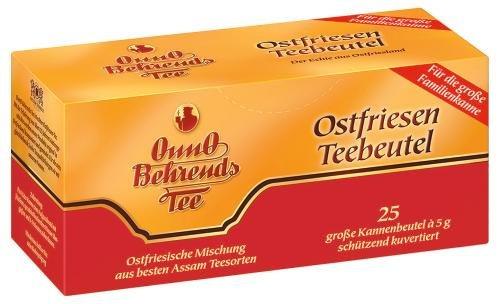 Onno Behrends Tee Ostfriesen Teebeutel, 10er Pack (10 x 25 x 5 g Schale)