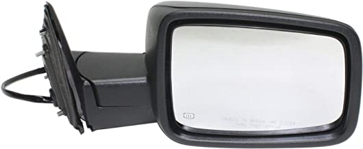 Mirror for Ram 1500/2500 P/U 13-17 Right Side Power Heated Textured Black