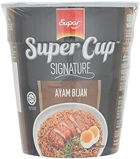 Super Cup Signature Instant Noodle 8 x 75g (628MART) (Sesame Chicken)