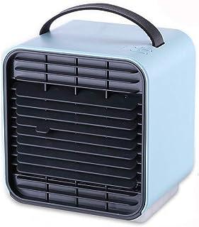 Mini refrigerador de aire pequeño aire acondicionado refrigeración doméstica multifunción pequeño dormitorio ventilador portátil ventilador de aire acondicionado ( Color : D )