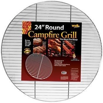 Grille ronde pour feu de camp 61 cm