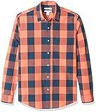Amazon Essentials Men's Slim-Fit Long-Sleeve Check...