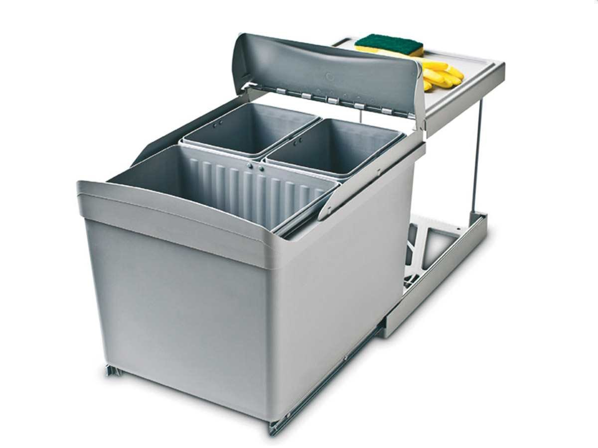 Wesco Automatic Boy 20-20 Einbau Abfallsammler Mülleimer