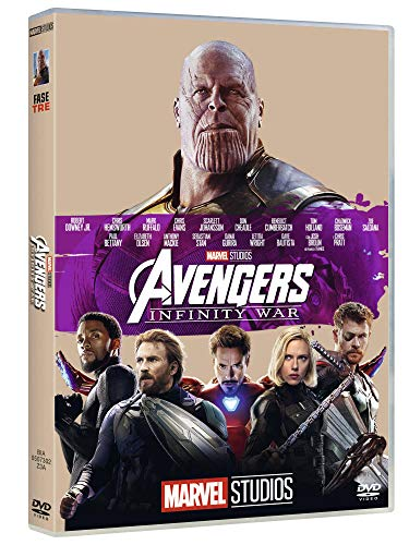 Avengers Infinity War 10° Anniversario Marvel Studios dvd ( DVD)