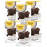 Receive 6 boxes of Simple Mills Almond Flour Chocolate Cake Mix. Rich cocoa and coconut sugar come together to take your muffins, cupcakes, and cakes to the next level of baking goodness Take a look at our nutritious baking mix ingredients. Nutrient ...