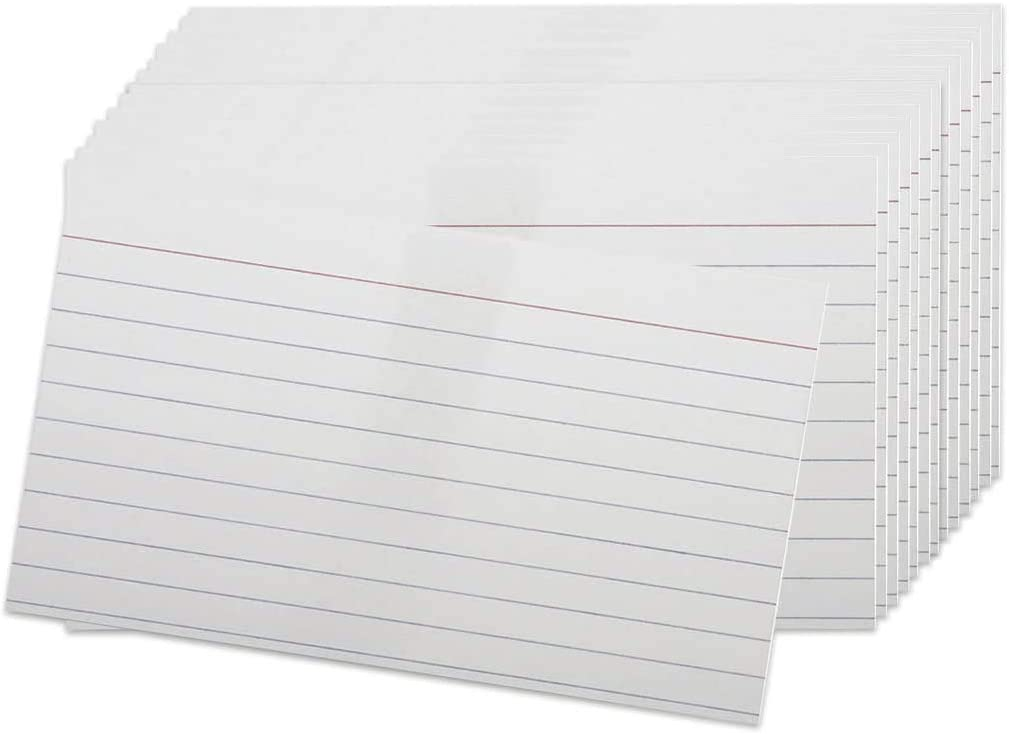 Index Cards - 3x5 specialty shop Inch Weight Card Ruled Index-C Heavy Super Special SALE held