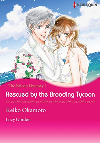 Rescued by The Brooding Tycoon: Harlequin comics (The Falcon Dynasty Book 1) (English Edition)