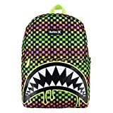 Hurley Kids' One and Only Backpack, Green Shark Bite, Large