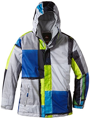 Quiksilver Jungen Snowboard Jacke Mission Youth Jacket, Section, 10 Jahre