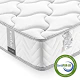 Twin XL Mattress Memory Foam 6 Inch, Inofia Cool Memory Foam Bed Mattress in a Box, CertiPUR-US Certified, Pressure Relief Comfy Body Support, No-Risk 100 Night Trial