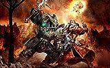 Murosn Puzzles Rompecabezas Juego De Rompecabezas De Madera De 1500 Piezas para Adultos Niños Puzzle Warhammer Online Age Reckoning Regalos De Cumpleanos