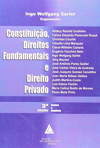 Constituição, Direitos Fundamentais e Direito Privado