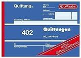 Herlitz 7876147 Blocco Ricezione A6 402 2x40 Blatt, Auto Durchschreibend - 5er Pack