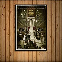 American Horror Story Classic Tv Series New Season Hot Art Painting Silk Canvas Poster Wall Home Decor 40 * 60Cm No Frame