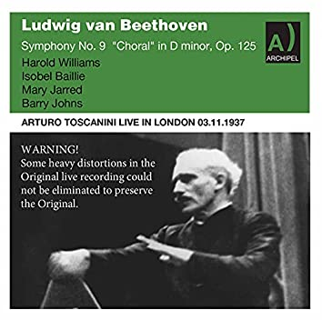Beethoven Symphony No. 9 Toscanini live in London 1937