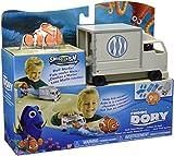 Buscando a Dory - Playset con acción: Camión de Hank, Color Blanco...